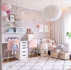 Do you want to decorate a woman's room in your house? Here are 34 girls room decor ideas for you. Tags: girls room decor, cool room decor for girls, teenage girl bedroom, little girl room ideas // girl's room inspiration, little girl's bedroom, fresh and feminine, natural light, bedroom inspiration, kid's room inspiration