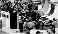1967 Camaro display