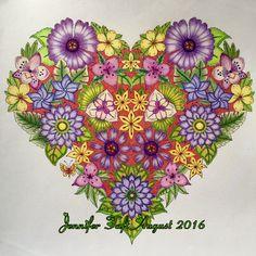 Colouring Gallery Magical Jungle Johanna BasfordJoanna BasfordJohanna Basford Coloring BookSecret Garden