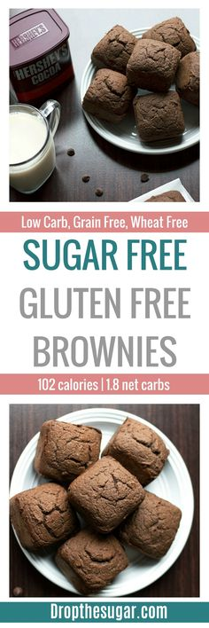 Sugar Free Gluten Free Brownies | a delicious and easy low carb ...