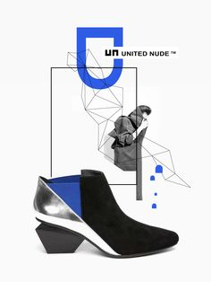 UNITED NUDE inspires me, and you? #unitednude http://www.unitednude.com/jacky-mid-black-silver-split-suede-mirror-leather-2658