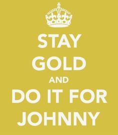 I love Johnny more than  unicorns