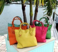 Mint, Hibiscus, Tangerine, Sunshine and Lime Spring Handbags ! 99Cent Discounted Shipping {Jane Deals}