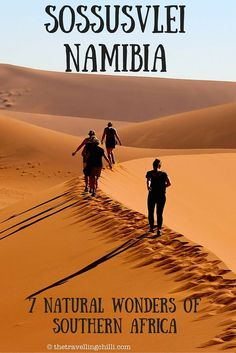 Sossusvlei Namibia - 7 natural wonders of Southern Africa: Africa Destinations, Travel Destinations, Travel Tips, Budget Travel, Travel Guides, 7 Natural Wonders, Namib Desert, Safari, Roadtrip