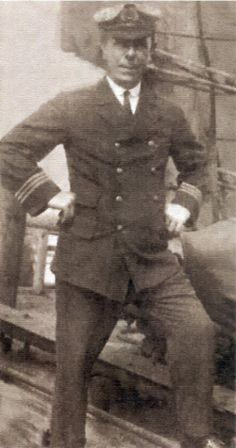 First Quartermaster Robert Hichens steered the Titanic into the iceberg.  He later got into a fight in the lifeboat with 'The Unsinkable Molly Brown' which brought her lifelong fame.  Hichens continued to work aboard ships after the sinking.