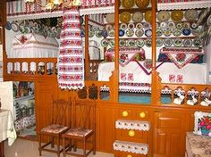 This post takes you to the Karpathiko Spiti (Karpathian House) on the Greek island of Karpathos, where homes are personal museums of the island's folklore, customs, and crafts spanning generations. Karpathos, Museum Displays, Greek Islands, Nativity, Summertime, Greece, Have Fun, Holiday Decor, Crafts