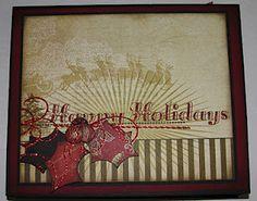 Christmas tutorial @ Creativepassion.blogspot.com