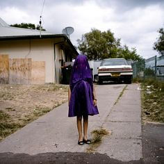 Laurinda by Raphaela Rosella won first prize in the portraits singles category. Laurinda is among many socially isolated young women in disadvantaged communities in Australia. Photograph: Raphaela Rosella/AP
