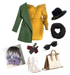 """""""Untitled #72"""" by giuliaabalanuta on Polyvore featuring WithChic, Strathberry, MANGO, Eugenia Kim and L.A. Girl"""