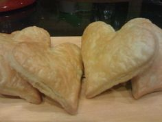 Justin Carpenter Easy Pastry Hearts 1 lb. small cottage cheese 1 tsp. vanilla Blend until smooth in blender. In bowl, cut 1 cup of butter and 1 cup