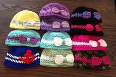 SALE  Baby Hat/Beanie (1 hat, your choice of color) on Etsy, $6.00
