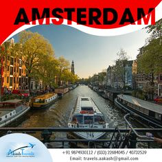 Visiting Amsterdam in April? Our in-depth guide has everything you need to know about Amsterdam in April - information, tips & Tour En Amsterdam, Amsterdam With Kids, Amsterdam Canals, Amsterdam Things To Do In, Visit Amsterdam, Amsterdam Netherlands, Amsterdam Itinerary, Amsterdam Travel Guide, European Travel