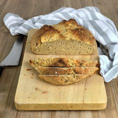 Sage Irish Whiskey Cheddar Soda Bread Cut