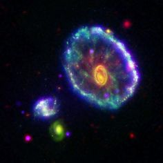 The Radical Cartwheel galaxy