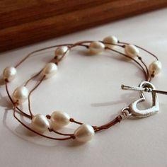 Western Pearl Bracelet by lindatrentjewelry on Etsy, $28.00