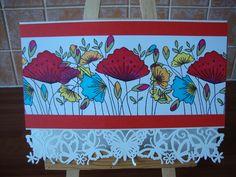 Hobby Art June Monthly Special Set Poppy Border