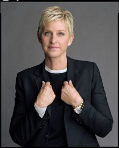 Ellen DeGeneres - what an amazing, kind hearted, wonderful human being.