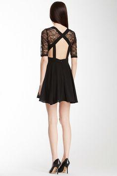 Romeo & Juliet Couture Lace Bodice Dress on HauteLook
