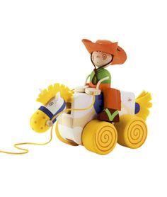 Pull-Along Cowboy