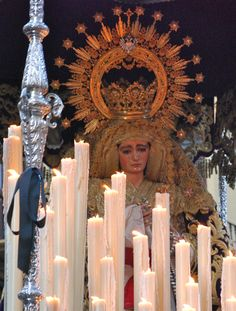 Holy Week procession....through all the streets....amazing