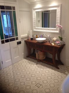 Our renovated queenslander bathroom