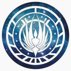 Battlestar Galactica Colonial Seal More