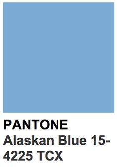 Pantone 15-4225 TCX Alaskan Blue Pantone Red, Pantone Colour Palettes, Orange Color Palettes, Pantone Color, Blue Palette, Colour Schemes, Color Trends, Color Combos, Branding
