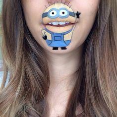 17Super divertidos dibujos para tus labios que querrás hacerte almenos una vez enlavida