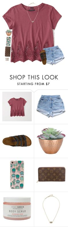"""""""do you guys remember seminary boy? ;) rtd"""" by classyandsassyabby ❤ liked on Polyvore featuring Abercrombie & Fitch, Birkenstock, Forever 21, Louis Vuitton and Kendra Scott"""