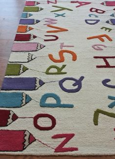 9 Great Alphabet Rugs For A Child S Room