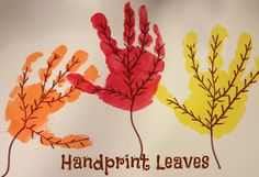 8 Fun Hand Print Crafts For Fall - Fall Crafts For Toddlers Fall Crafts For Toddlers, Crafts For 2 Year Olds, Diy Crafts For Kids, Art For Kids, Autumn Crafts, Autumn Art, Thanksgiving Crafts, Leaf Crafts, Baby Crafts