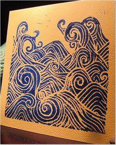 wave stamp.