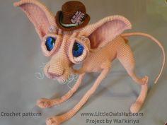 Project by Walkiriya. Crochet pattern Cat Sphinx Findus by Svetlana Pertseva fot LittleOwlsHut #LittleOwlsHut, #Pertseva, #Cat, #CrochetPattern, #Amigurumi, #CatSphinx, #Kitty, #Kitten, #DIY