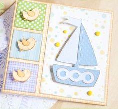 baby cards diy
