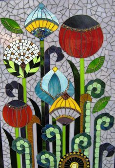 art deco style mosaics - Google Search