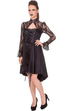 Banned Apparel - Black Betty Dress