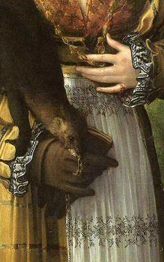 Parmigianino (Girolamo Francesco Maria Mazzola), Antea, 1534, detail