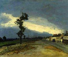 Johan Berthold Jongkind: La Cote Saint Andre