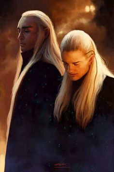 Father and son - #Thranduil and #Legolas