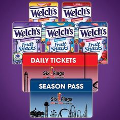 Welch's / Six Flags Sweepstakes