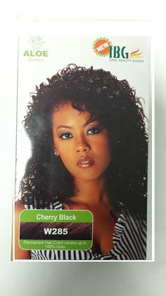 IBG Ideal Beauty Goods Hair Color (Cherry Black- W285) >>> You can find out more details at the link of the image.