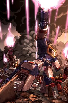 Transformers G1 - Decepticon Battle
