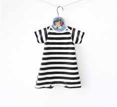 789ad654e9158 Retro Striped Baby Swimsuit, Baby Boy Swimwear, Toddler Bathing Suit, Baby  One Piece Maillot, Swim Bodysuit, UV Protection, Boy Beachwear