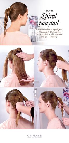 We created a twist to the classic ponytail. Try it yourself, it's super quick and easy! #DIY
