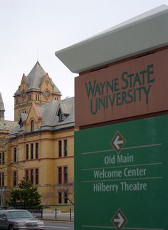 My School! Wayne State University, with an article and pictures of Old Main.