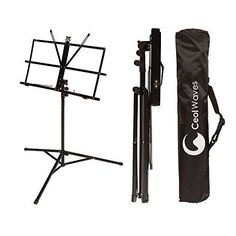 Portable Adjustable Sheet Music Stand with Case - Easy to Carry - Perfect For Travel by Ceol Waves Ceol Waves http://www.amazon.com/dp/B00XD6EJ2I/ref=cm_sw_r_pi_dp_Aqo0wb1NGKXJE