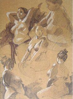 Sketchbooks :: Les Croquis D'Atelier De Régis Loisel