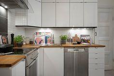 Un apartamento nórdico de 50 metros cuadrados | Decorar tu casa es facilisimo.com