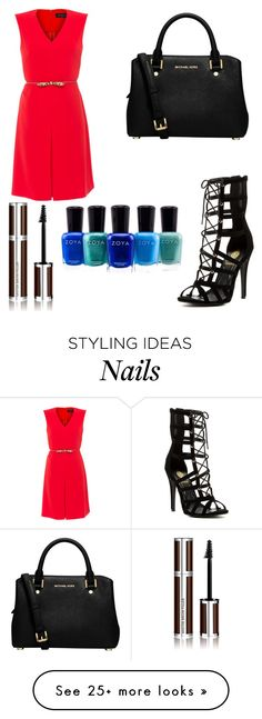 """""""Untitled #7436"""" by ohnadine on Polyvore featuring MaxMara, MICHAEL Michael Kors, Givenchy and Zoya"""