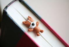 Mocha the Pembroke Welsh Corgi Bookmark by MochasFriends on Etsy, $23.00